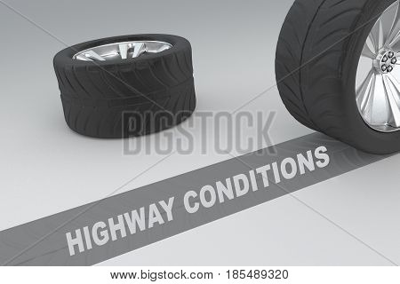 Highway Conditions Concept