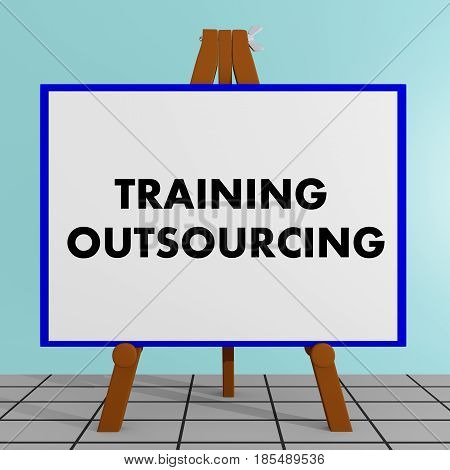 Training Outsourcing Concept