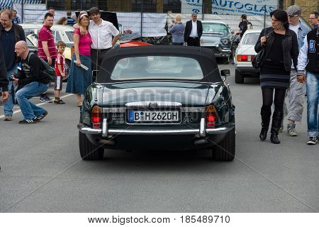 Berlin - May 11: Luxury Car Daimler Double-six (jaguar Xj), A Rear View, 26Th Oldtimer-tage Berlin-b