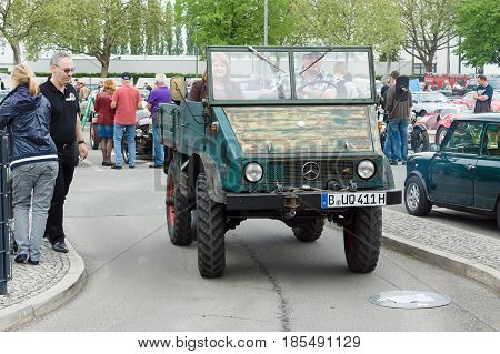 Berlin - May 11: Small Special Truck Unimog 401
