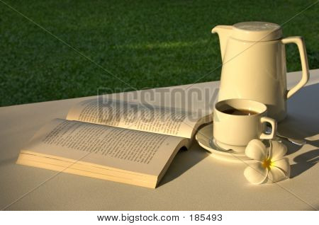 Relaxing With A Book & A Cuppa