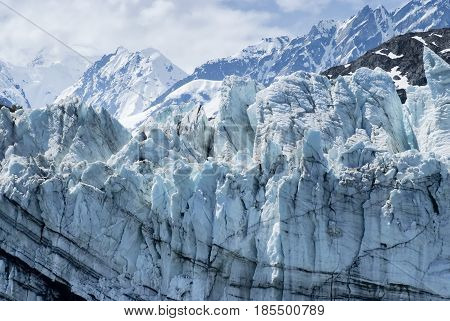 Margerie Glacier at Glacier Bay National Park Alaska
