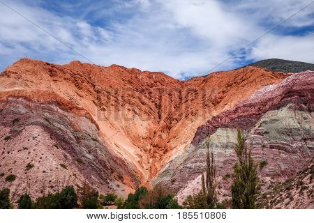 Purmamarca, Hill Of The Seven Colours, Argentina