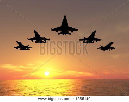 Five Jets