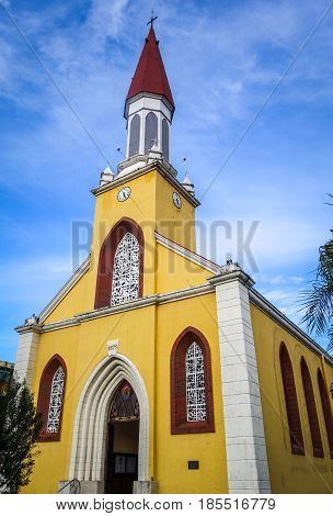 Papeete City Cathedral, Tahiti Island