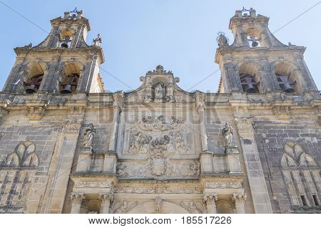 Collegiate Church of Santa Maria de los Reales Alcazares Ubeda Jaen Province Andalusia Spain