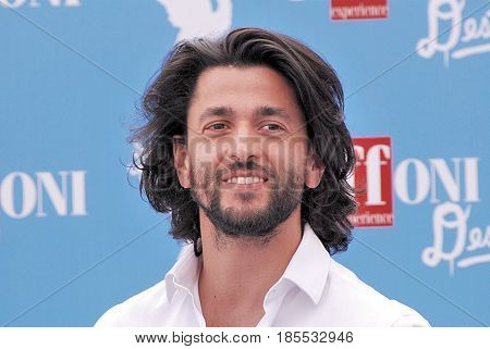 Giffoni Valle Piana Sa Italy - July 17 2016 : Gianni Rosato at Giffoni Film Festival 2016 - on July 17 2016 in Giffoni Valle Piana Italy