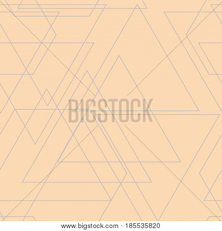 Vector seamless pattern. Irregular abstract grid. Graphical background. Texture Illustration