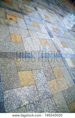 Thailand  Asia  Bangkok Abstract Pavement