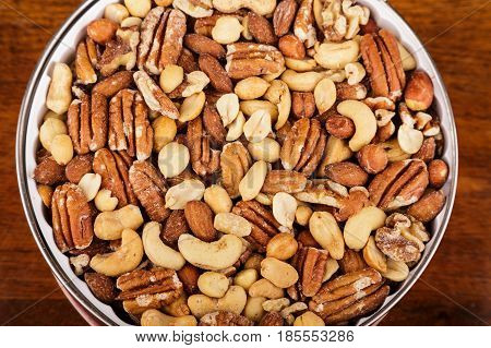 Fresh Deluxe Mixed Nuts in Christmas Tin