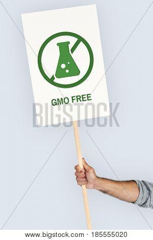 Gmo Free Healthy Lifestyle Concept