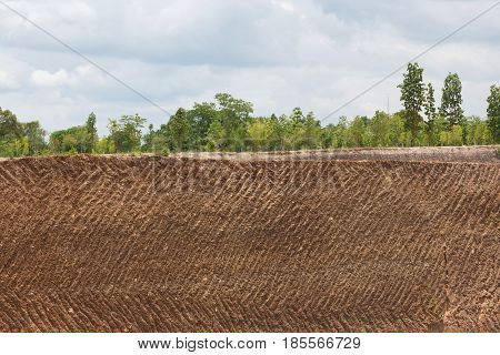 Earth Soil Texture Background From Ore Mine Mining