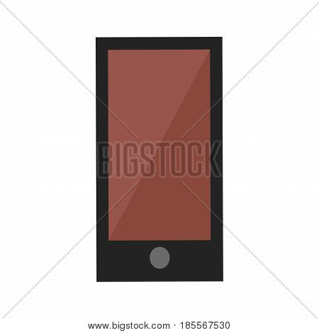 Realistic tablet pc computer with blank screen isolated on white background. Vector illustration digital technology computer blank. Business pad communication.