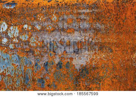 Rusty metal. Texture.