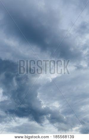 Rain Cloud Dramatic Moody Sky Background