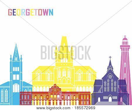 Georgetown Skyline Pop