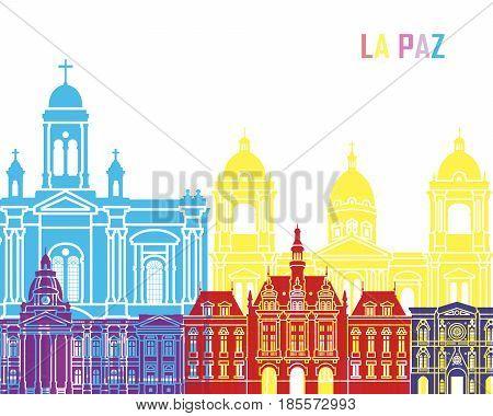La Paz Skyline Pop