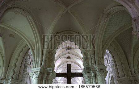 Saint Germer De Fly Church, Oise, France