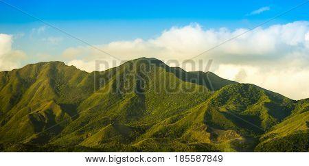 Noumea Mountains Sunset