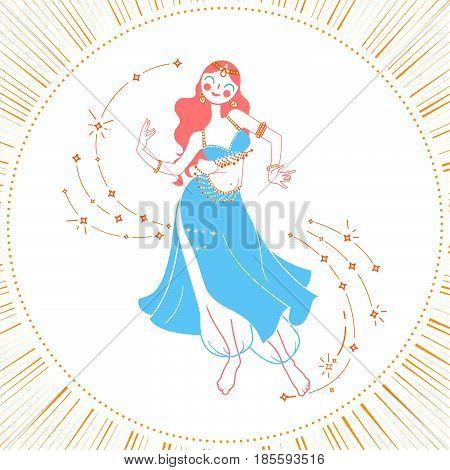 Icon Dancing Woman