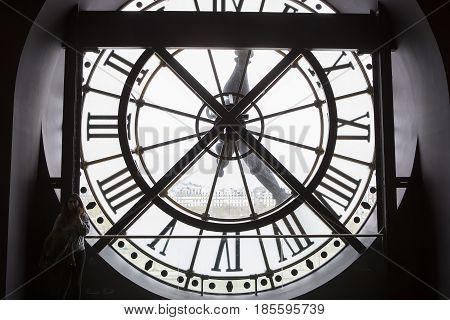 Clockwork Of The Orsay Museum, Paris, France