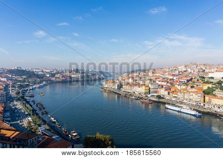 old town of Porto and river, Portugal, Europe