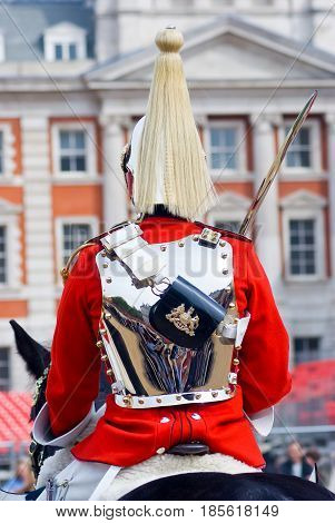 The Queen's Life Horse Guard in London