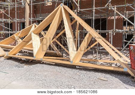 House Construction Roof Trusses