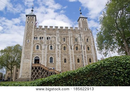 The White Tower at Tower of London