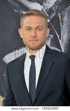 Charlie Hunnam at the Los Angeles premiere of 'King Arthur: Legend Of The Sword' held at the TCL Chinese Theatre in Hollywood, USA on May 8, 2017.
