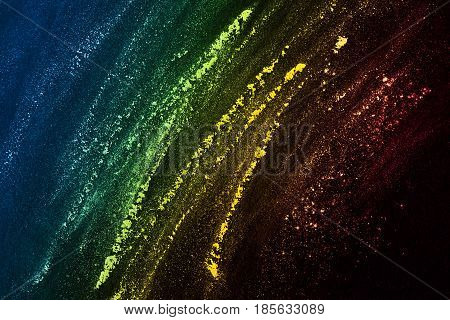 Vibrant Splash Of Color