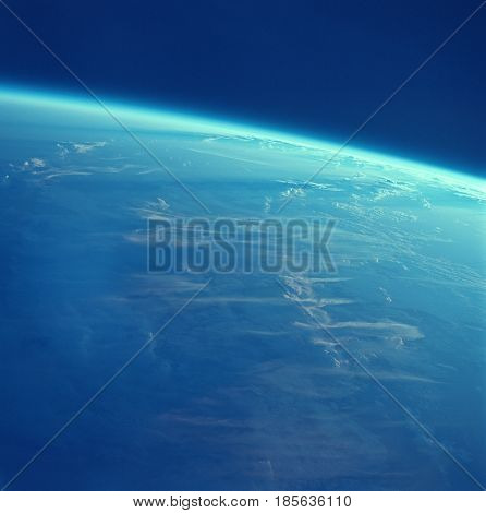 a photo of globe earth from high above
