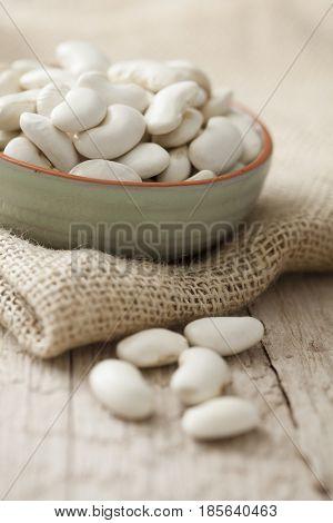 dry white giant beans