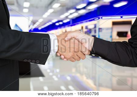 Shake Hands To Success