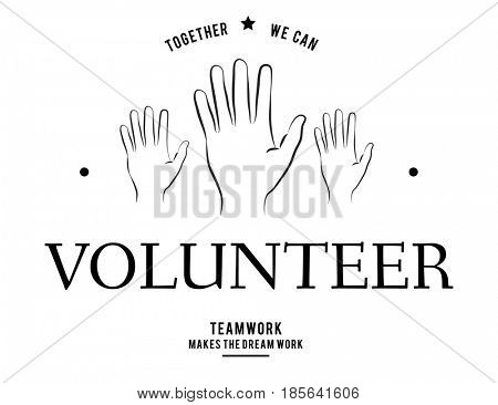 Volunteer support assist charity help