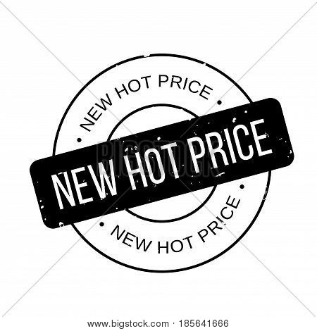 New Hot Price rubber stamp. Grunge design with dust scratches. Effects can be easily removed for a clean, crisp look. Color is easily changed.