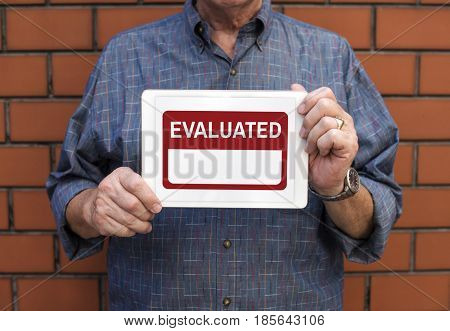 Evaluated Feedback Review Performance Graphic