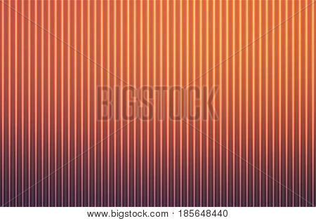 Red orange purple abstract blurred gradient mesh with light lines vector background