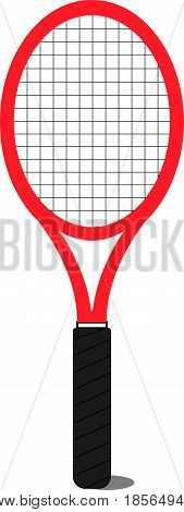 Tennis Racquet Vector for use with logo or poster