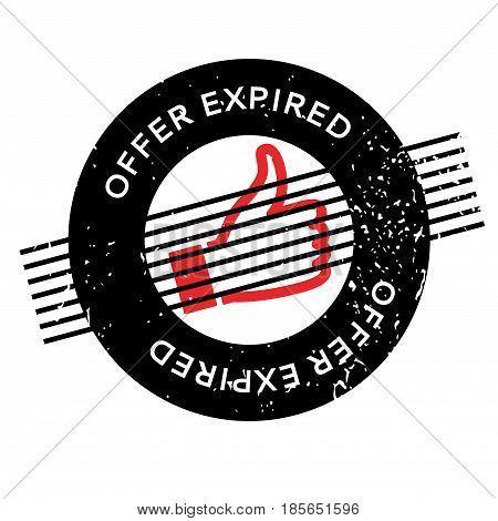 Offer Expired rubber stamp. Grunge design with dust scratches. Effects can be easily removed for a clean, crisp look. Color is easily changed.