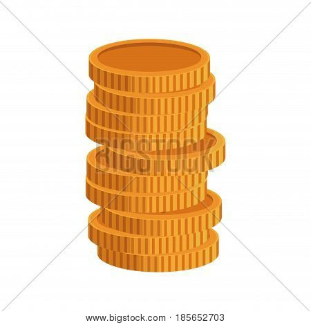 coins us dollar banknote background. finance concept. vector illustration