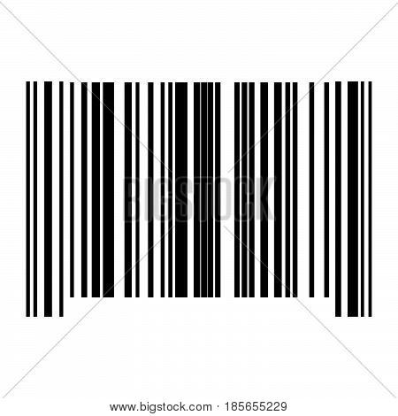 The Barcode Black Color Icon.