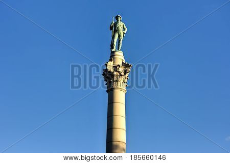 Confederate Soldiers' & Sailors' Monument