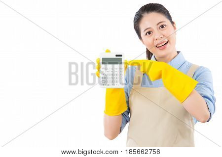 Showing The Price For Cleaning Service