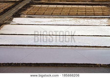 Abstract Pond Water Coastline Salt