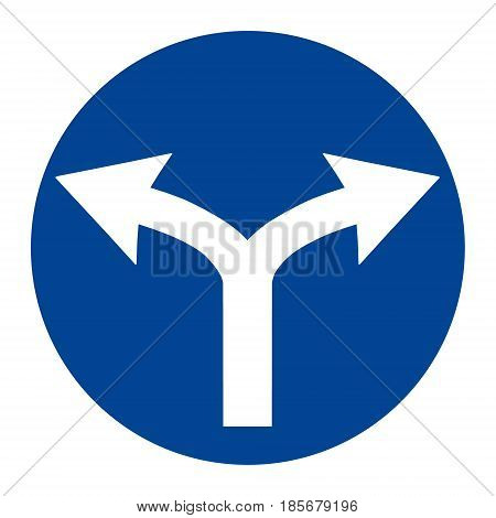 Round Traffic Sign