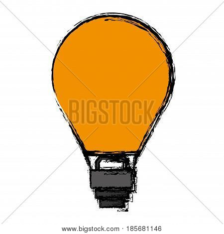 hot air balloon icon over white background. colorful design. vector illustration