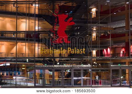 BERLIN - FEBRUARY 04: Berlinale Palast the main venue the Berlinale International Film Festival February 04 2013 in Berlin Germany