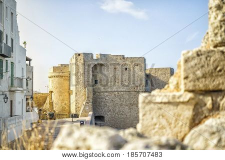 Castle In Beautiful Monopoli, Italy