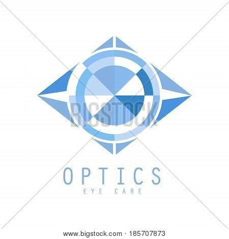 Optics logo symbol. Vector Illustration for optics clinic, company, ophthalmology cabinet